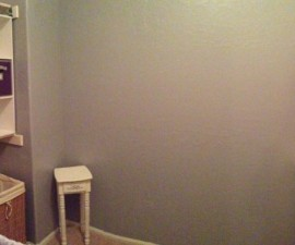 closet nursery, panoramic photo, iPhone 5