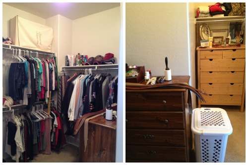 his and her master walk-in closet