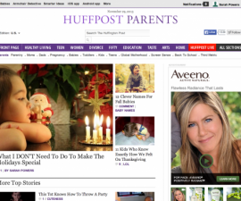 Huffington Post, blog, holiday traditions, Sarah Powers